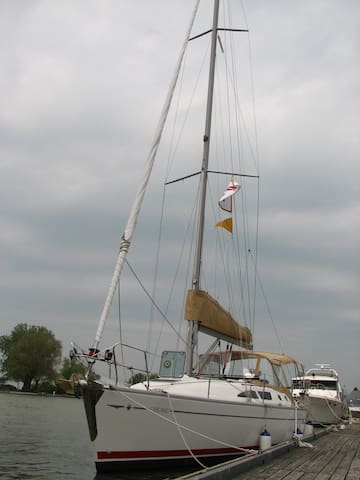 2 double cabins on a private yacht - Saint Catharines - Bateau