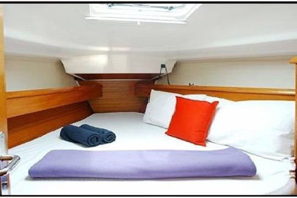 The front cabin.