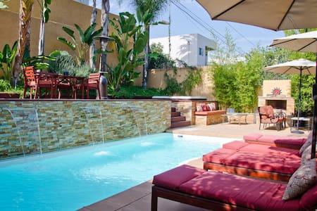Los Feliz Oasis Cottage, Pool and Spa