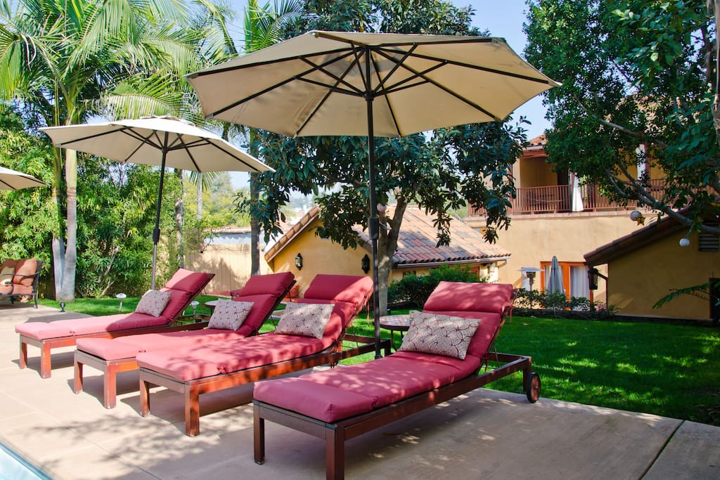Los feliz oasis cottage pool and spa guesthouse for for Cottages in los angeles