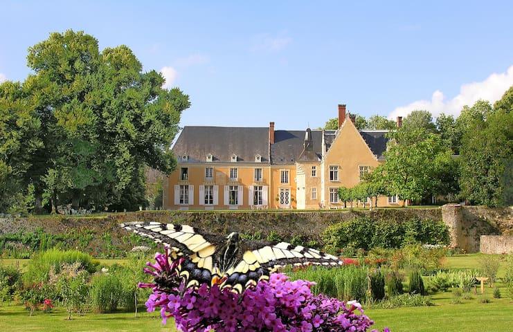 Chateau de la Barre, Loire, France - Conflans-sur-Anille - Kastil
