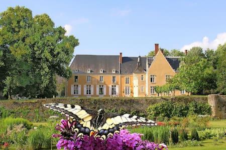 Chateau de la Barre, Loire, France - Conflans-sur-Anille - Slott