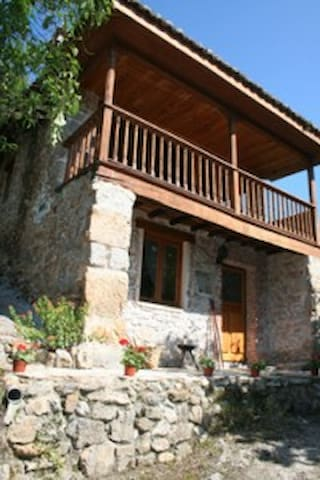 Casa-Asturiana; Picos de Europa - La Riera de Covadonga - Ház