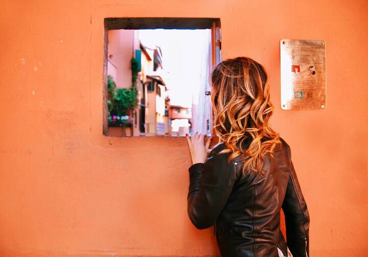 Piccola Venezia a Bologna#lafinestrella