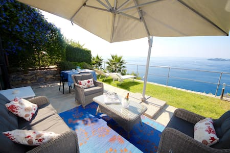 SUITE DOLCEVITA 1BR-patio&garden&view by KlabHouse - Zoagli