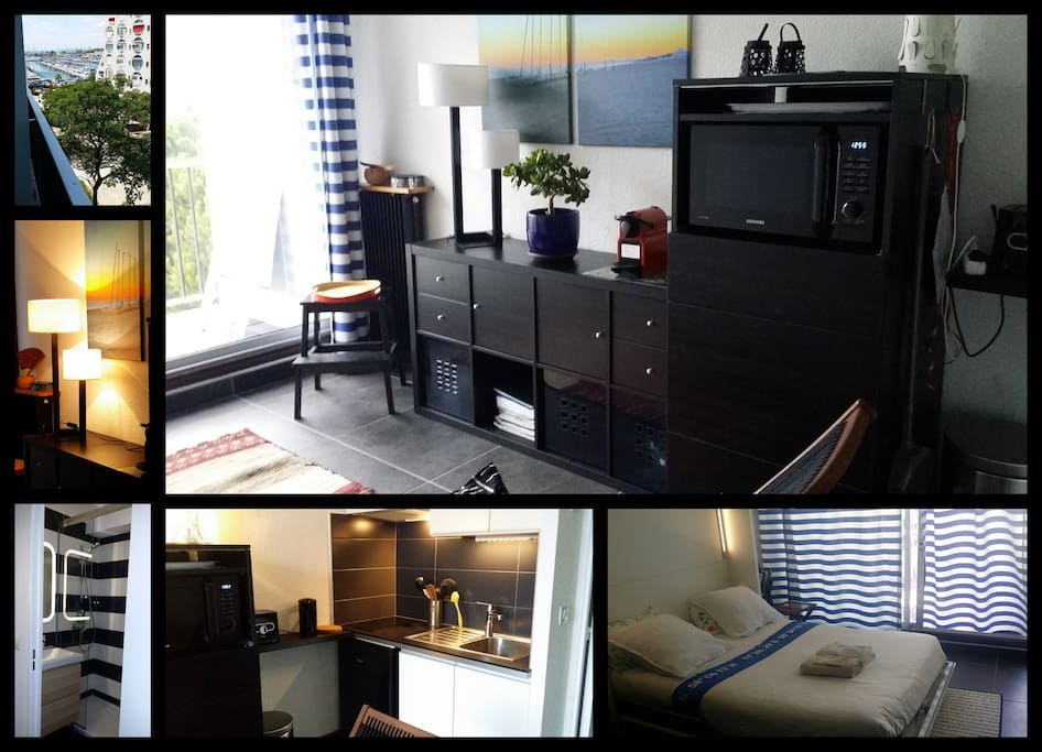 Trendy little studio harbor view r f fr3mnnyp apartments for rent in la - Matelas dunlopillo trendy room 24 ...