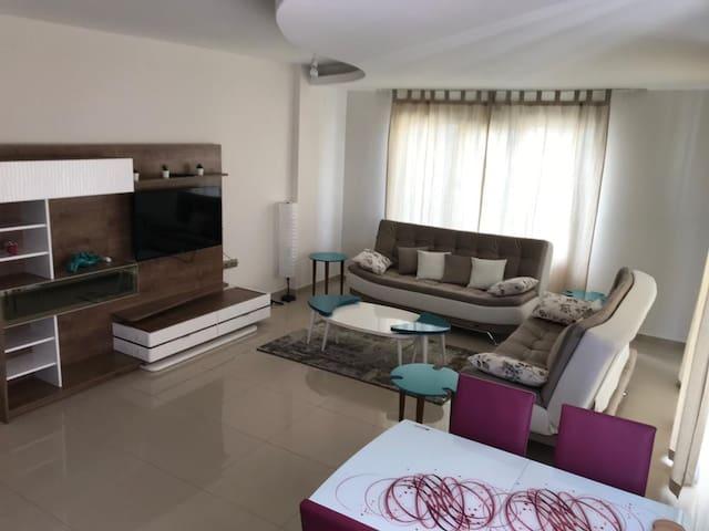 Luxury NEW apt in Alanya - 2 rooms 1 living room