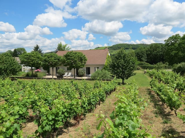 Two bedroom house in the vineyards near Santenay - Paris-l'Hôpital - Casa