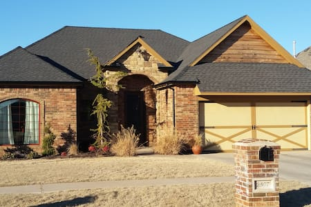New home off I-40 in Weatherford.