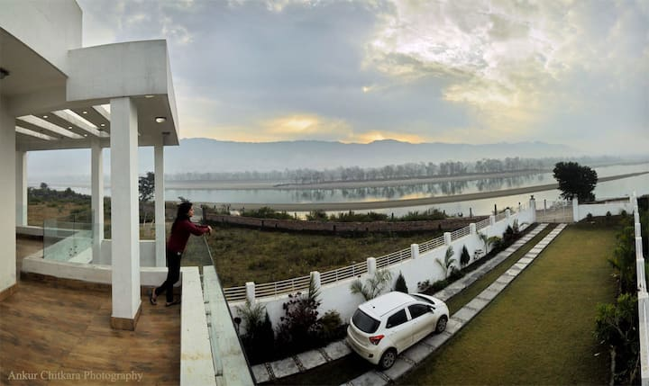 Riverside Villa; Natgeo Featured Breathtaking View