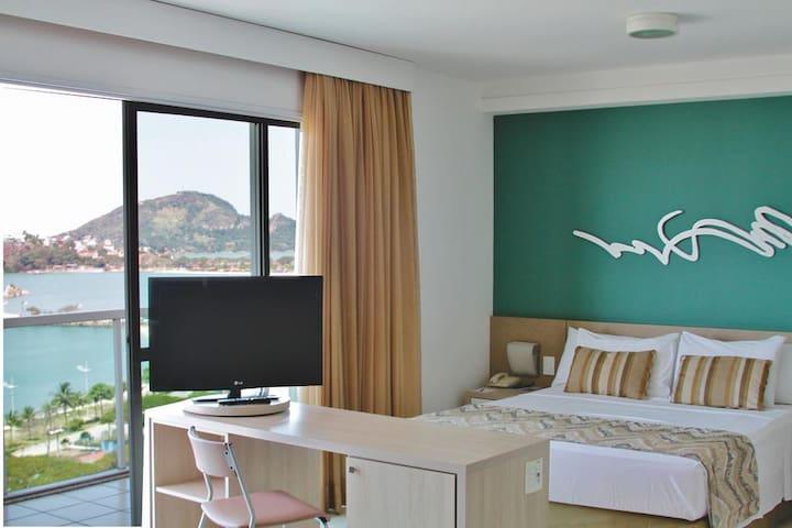 A melhor vista , Praia do Canto Apart Hotel