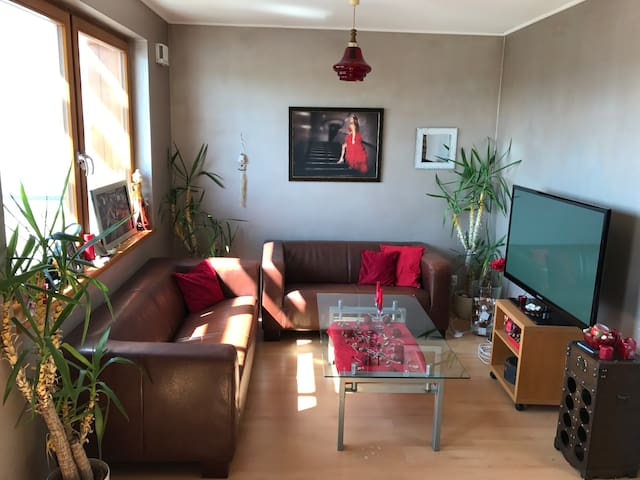 Cosy apartment in Prague with terrace and parking - Praag - Appartement