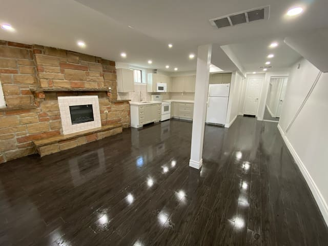 Spacious, Clean, New Basement | Close 2 Everything