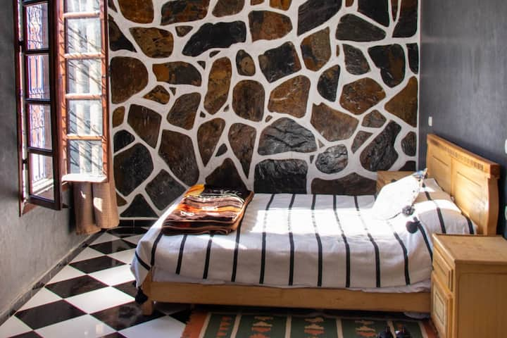 Riad Malak - Deluxe Room with Pool & Mountain View