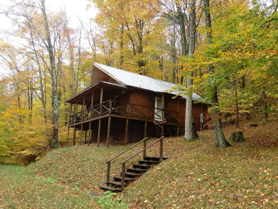 Cabin serenely situated on 85 acres