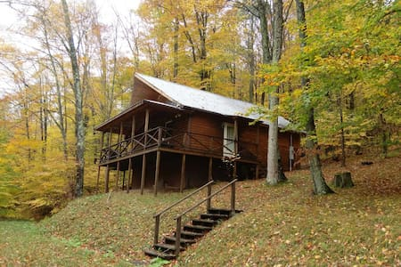 Elkwater Fork Cabin, Monterville WV - Valley Head - Cottage