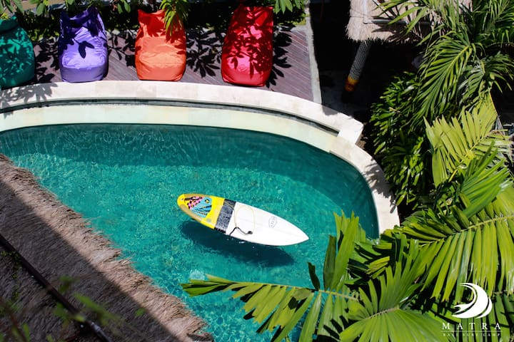 Surf stay in the heart of Canggu