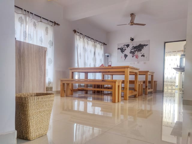 3bhk Floor in a quaint Villa in Assagao