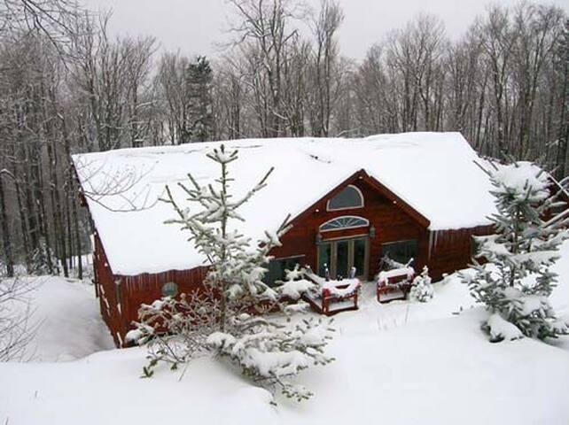 South Westridge 47 - Snowflake Lodge.  Hot tub, pool table, foosball table. Enjoy the WIFI and unlimited long distance!  4 WHEEL DRIVE MANDATORY!
