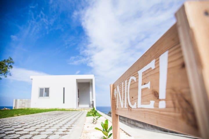 「NICE!」オーシャンビューの家、高速Wi-Fi無料駐車場有り、南国石垣島で青い海と空を感じよう!