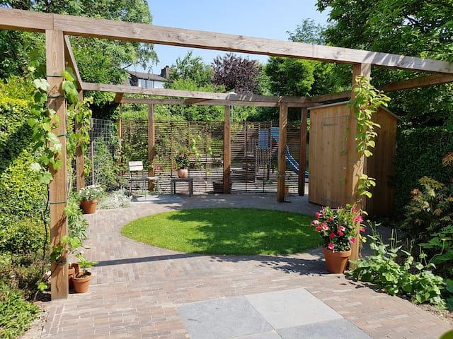 Spacious home with garden