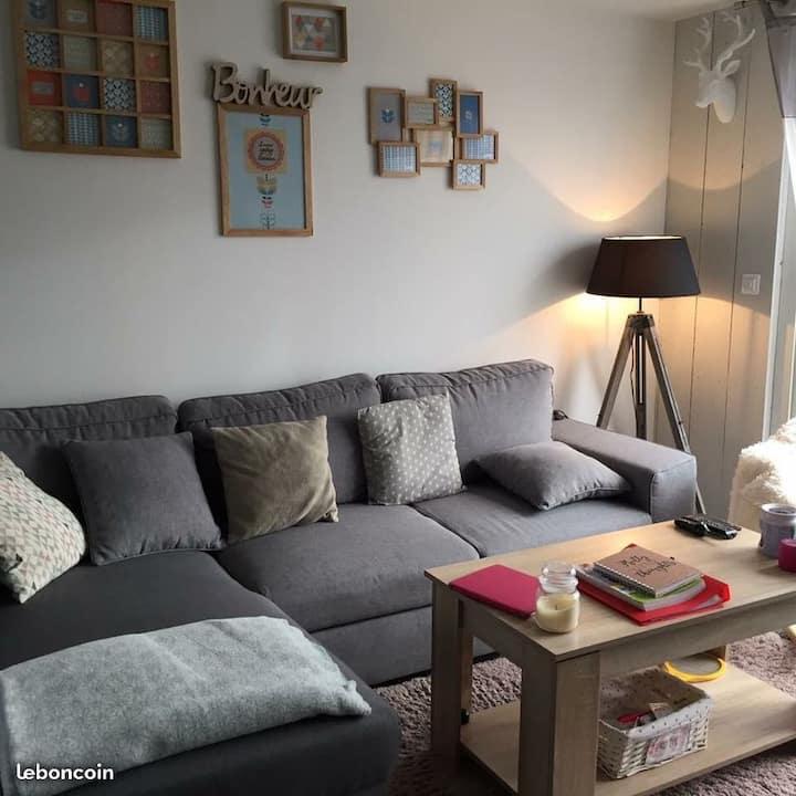 Jolie chambre dans appartement moderne