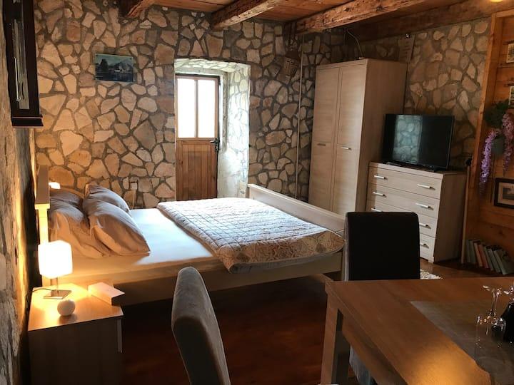 Room in winery Pajović