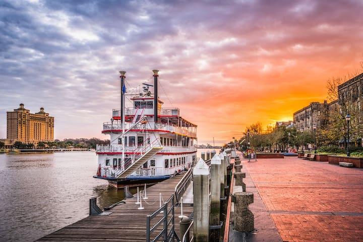 Savannah River Tours 45 Min Away