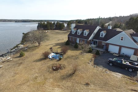 Large 6 bedroom house on 2 acres peninsula
