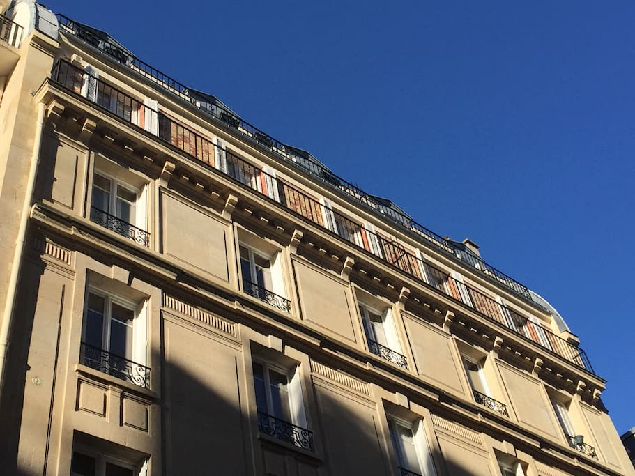 5th floor all 5 doors to the sunny balcony :-) facade is brand new since october