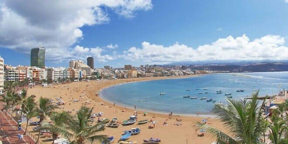 Apartamento a 30 metros de la playa - Las Palmas de Gran Canaria - Apartamento