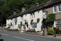 Chequres pub 300 yards from Beewood Barn