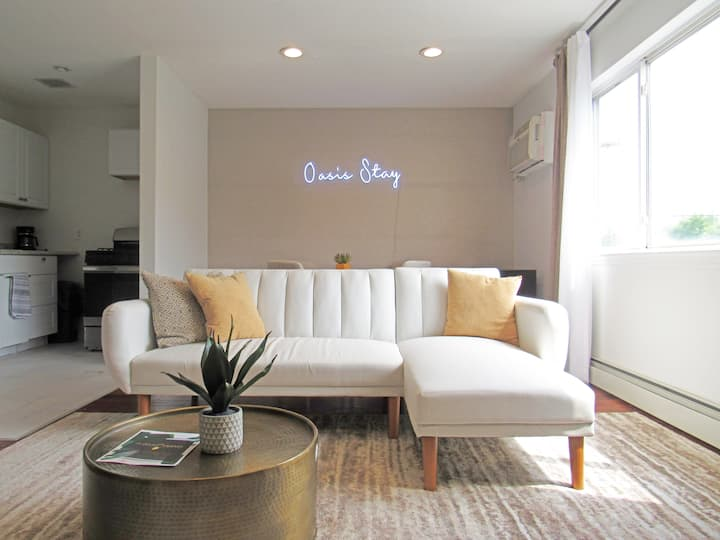 Oasis Stay NY - Full 2 bedroom; 18 mins from NYC