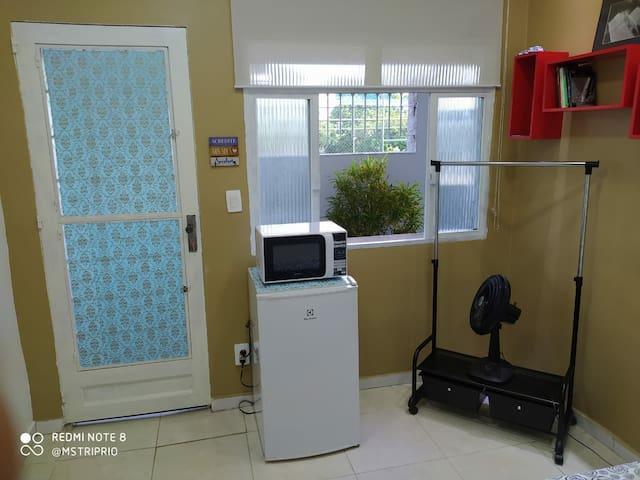 Loft da Vó, Vila Militar, Sulacap, com garagem.