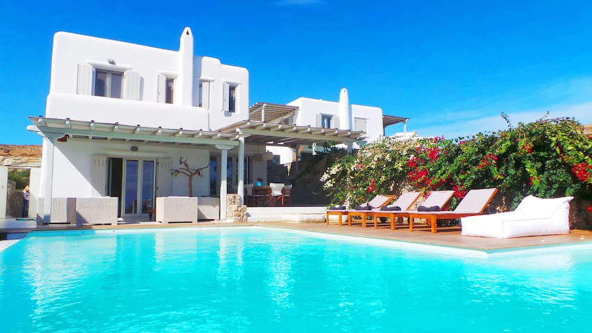 Villa Blue luxurious Mykonos rental