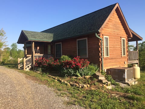 Log Cabin on 50' Miller's Falls - Eco-Village