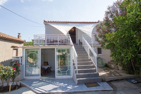 Limnos Appartement 1 chambre, avec vue sur le jardin