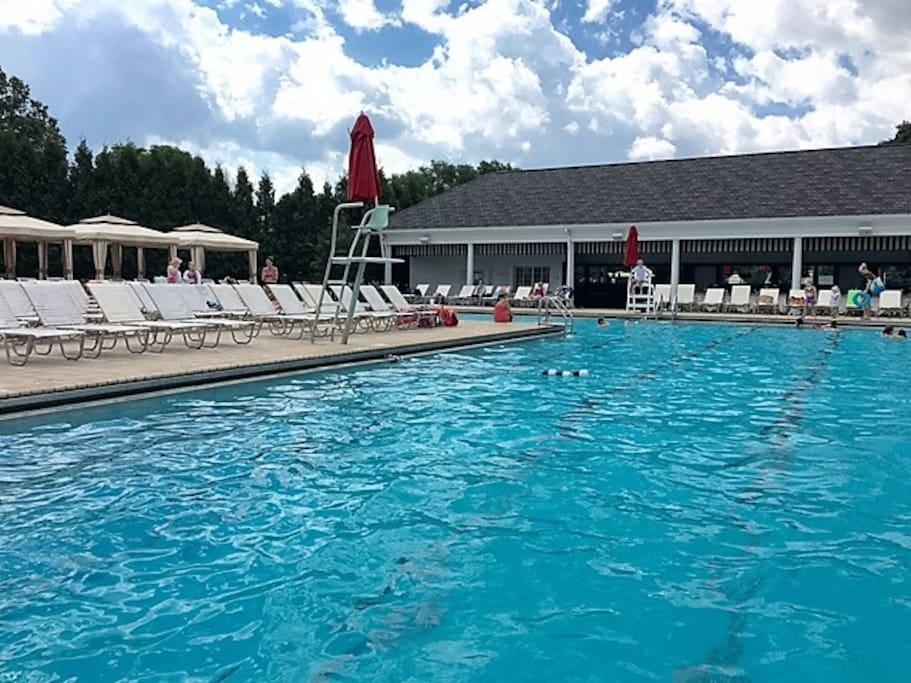 Pool at Bruhl