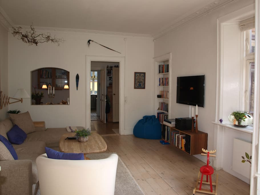 The living room from another angle