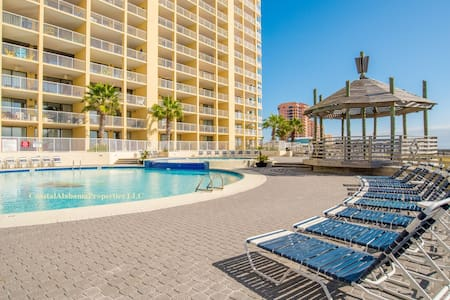 GORGEOUS Beachfront Penthouse:  pools, tennis, gym - Orange Beach - Kondominium