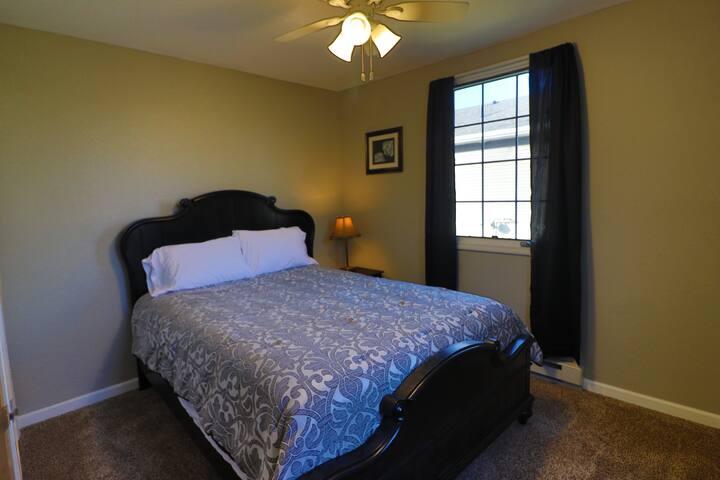 Enjoy the super comfortable pillow top mattress!