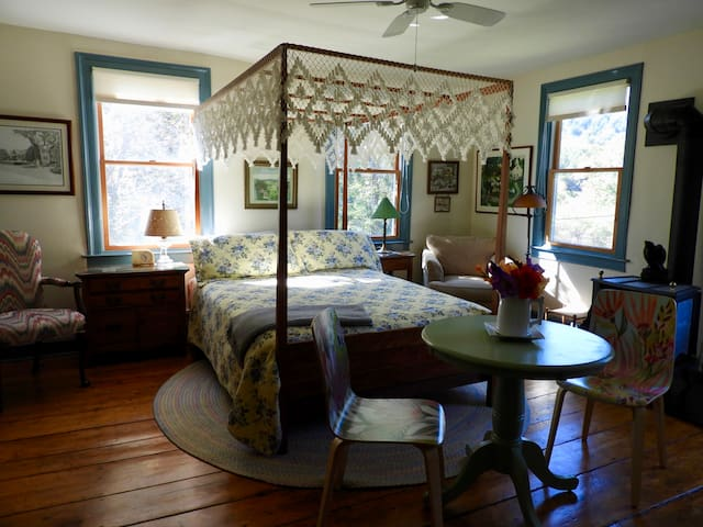 The Parsonage Guest Suite on Gilead Brook Road