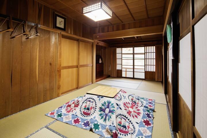 客室2(冬) お部屋の指定は承っておりません。ご了承ください。