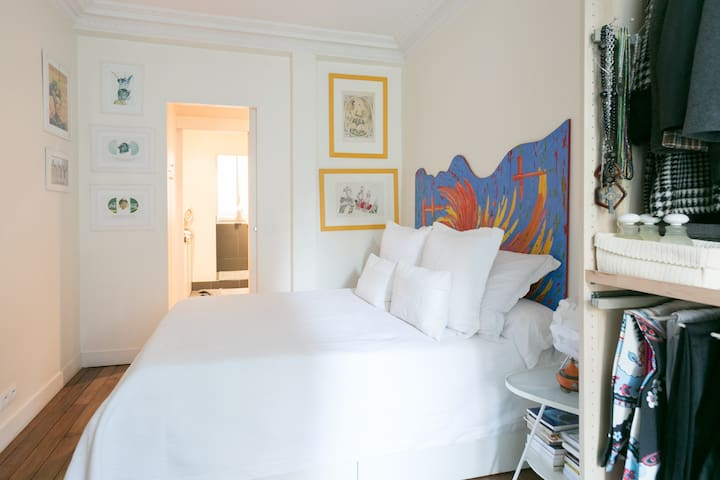 Lovely bedroom in the 13th district - Párizs - Lakás