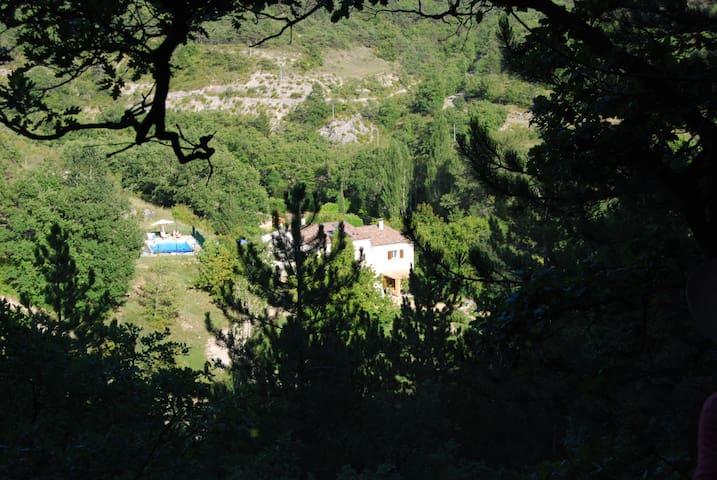 une oasis de nature et de  calme - Beaufort-sur-Gervanne - Appartement
