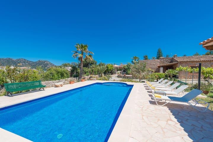 GALARDO :) Villa for 6 people in Port Verd