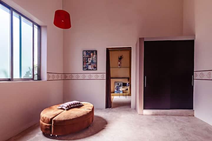 Deluxe with two beds @ Hacienda Sacnicte, Izamal