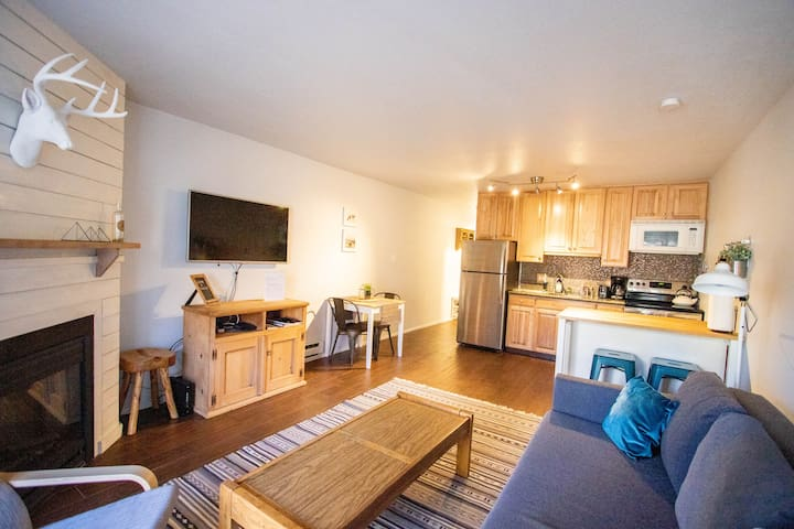 Location! Updated 1 Bed. Walk to the Resort + Town