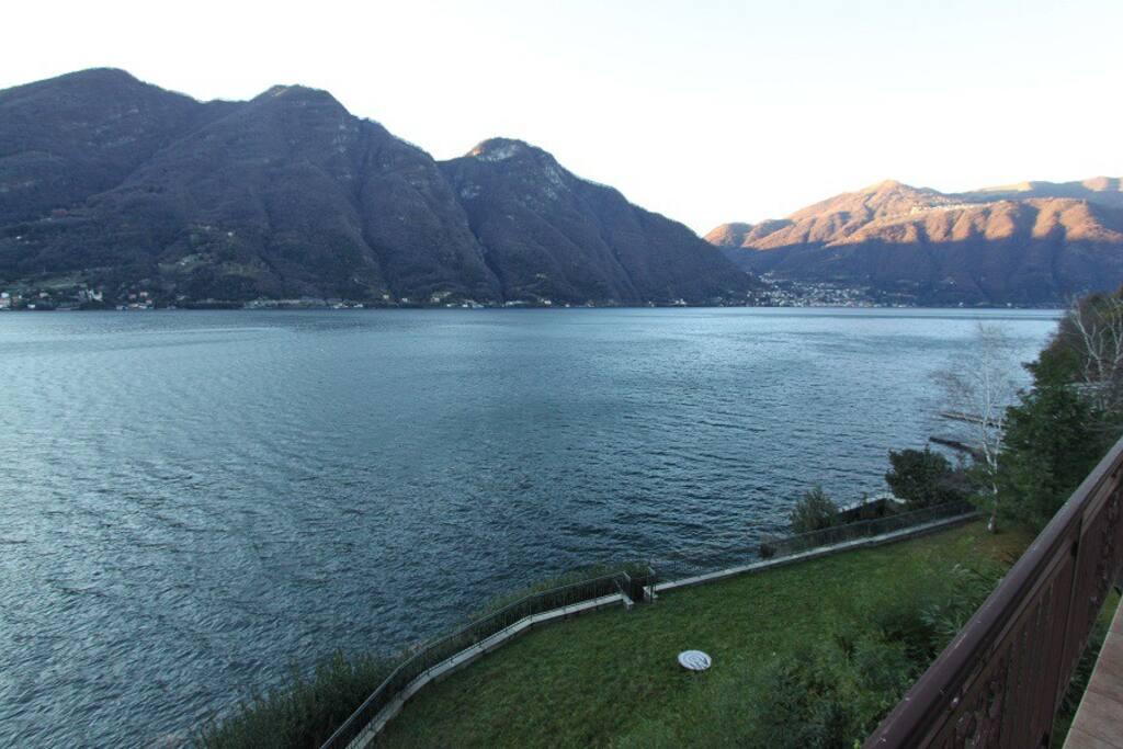 Lake view and solarium