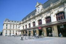 """Appartement """"El Patio"""" T2 - Gare Saint-Jean"""